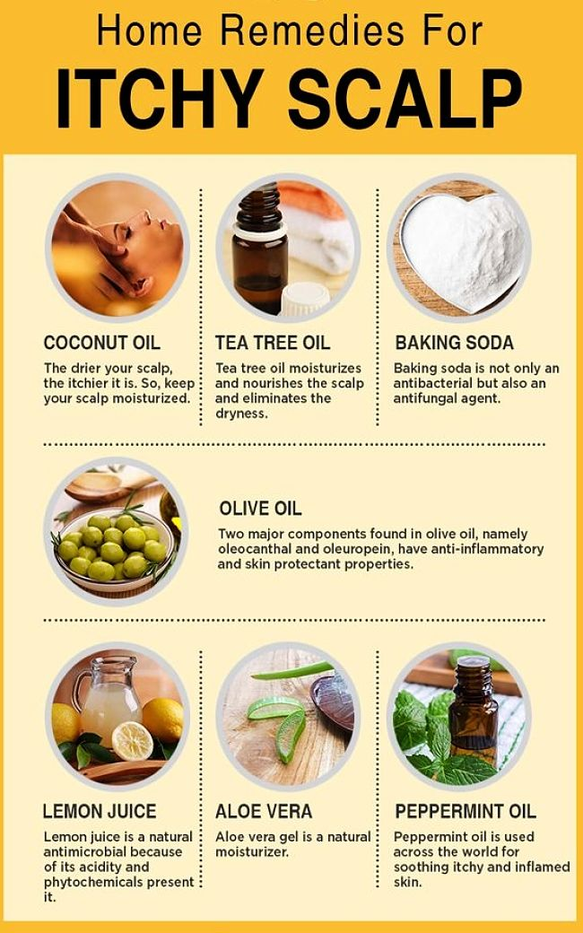 Home Remedies For Itchy Scalp And Dry Scalp Treatment And